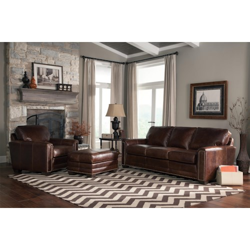 Smith Brothers 229 Stationary Living Room Group