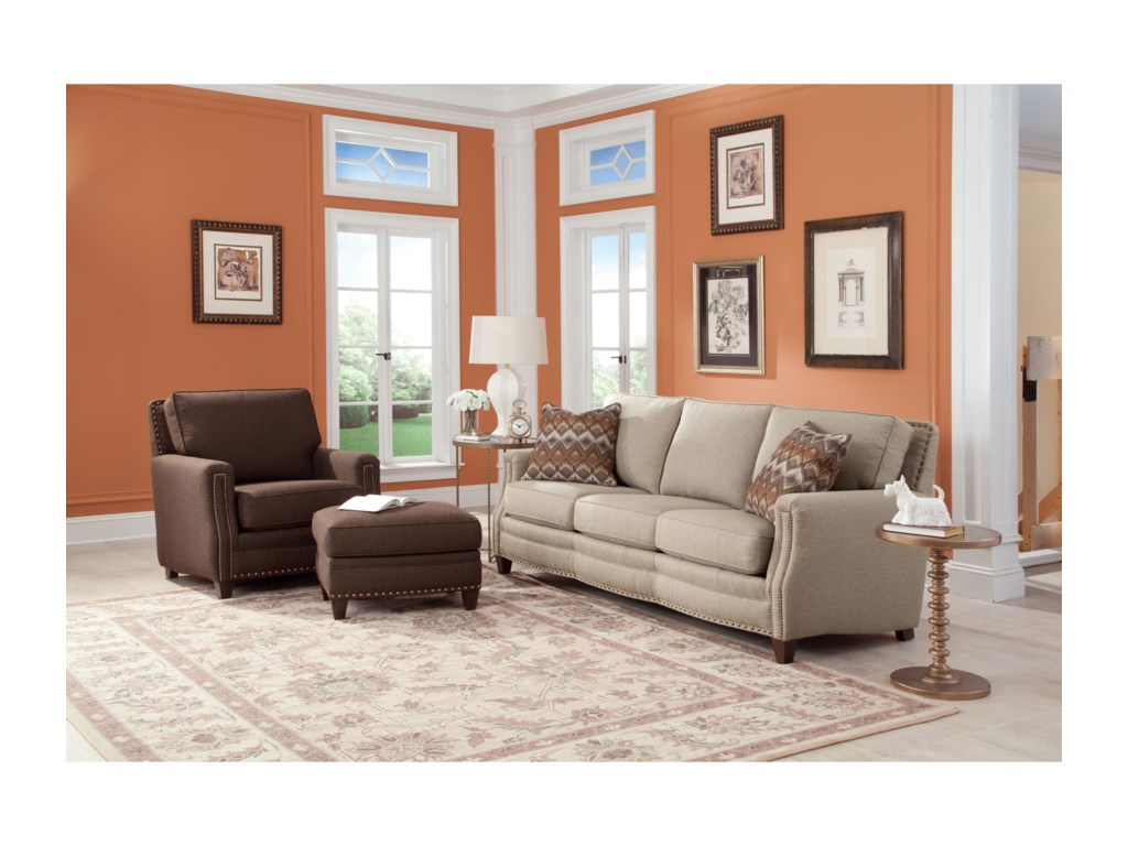 Smith Brothers 231Stationary Living Room Group