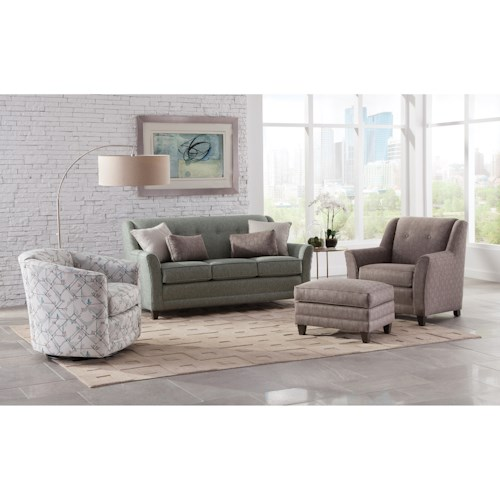 Smith Brothers 236 Stationary Living Room Group