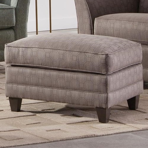 Smith Brothers 236 Casual Ottoman