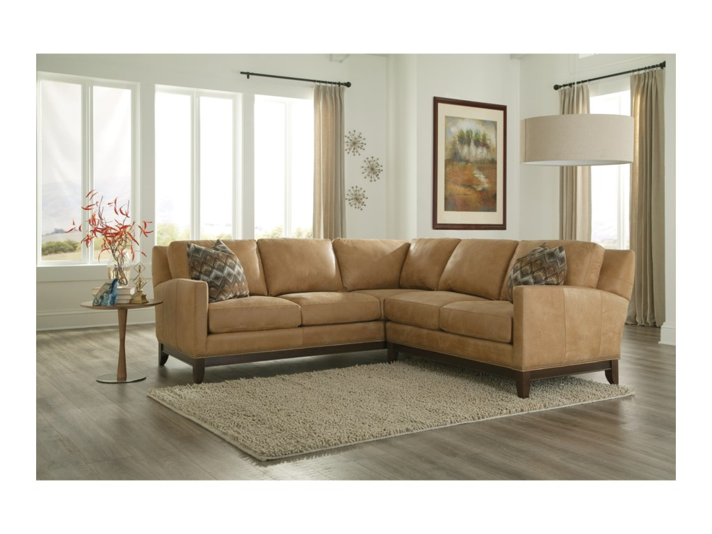 Smith Brothers 238Sectional Sofa