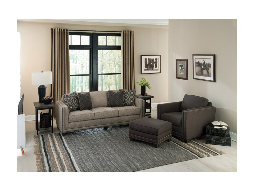 Smith Brothers 240Stationary Living Room Group