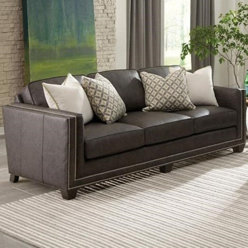 Smith Brothers 240 Transitional Sofa with Nailhead Trim
