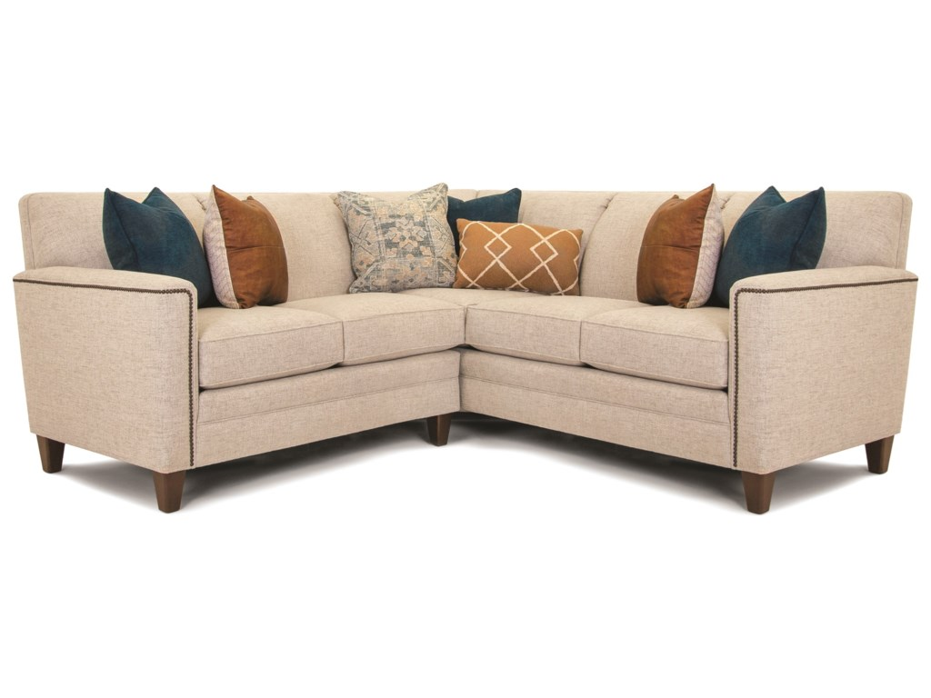 Smith Brothers Build Your Own 3000 SeriesCustomizable 2-Piece Sectional