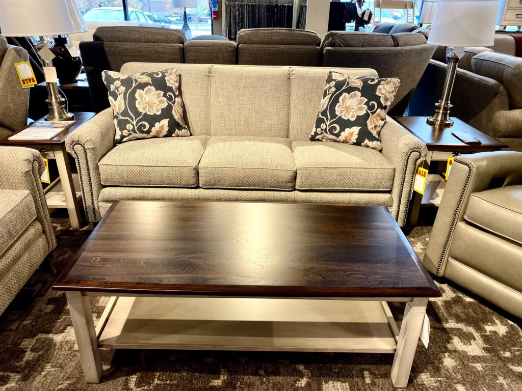 Smith Brothers Build Your Own 3000 SeriesCustomizable Sofa