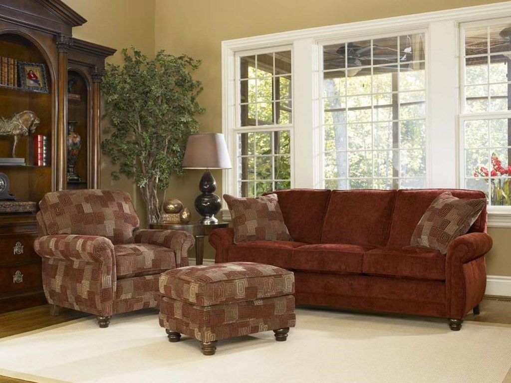 Smith Brothers 302Upholstered Chair