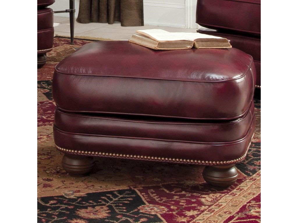 Smith Brothers 311Upholstered Chair and Ottoman