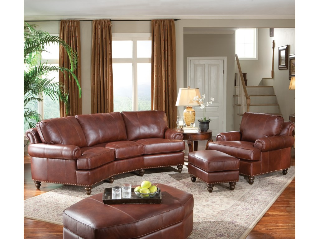 Shown with Conversational Sofa & Ottoman