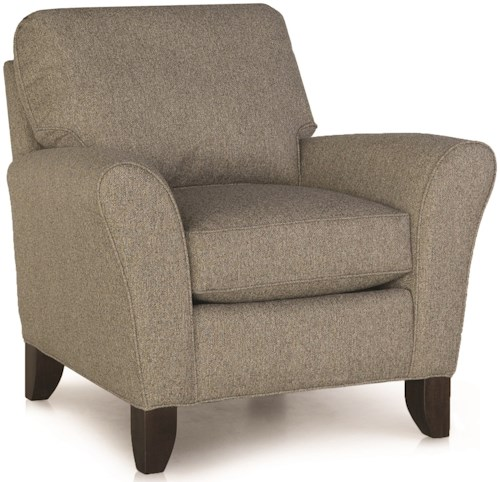 Smith Brothers 344 Upholstered Stationary Chair