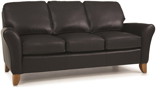 Smith Brothers 344 L Upholstered Stationary Sofa