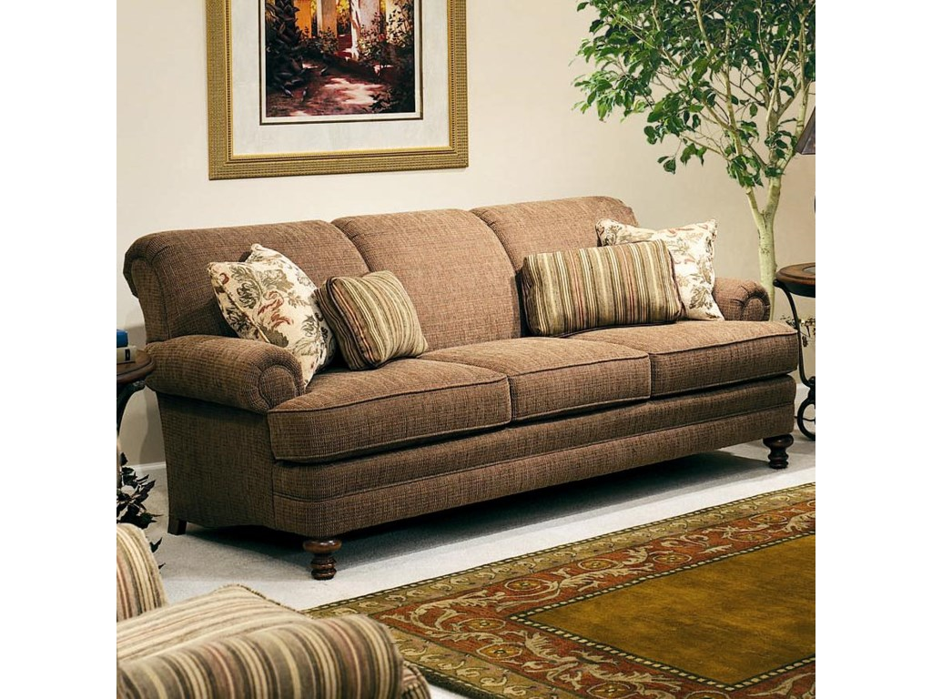 Smith Brothers 346Upholstered Stationary Sofa
