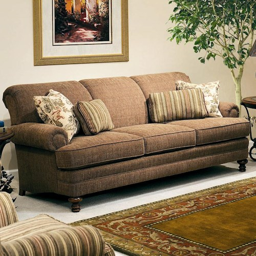 Smith Brothers 346 Upholstered Stationary Sofa