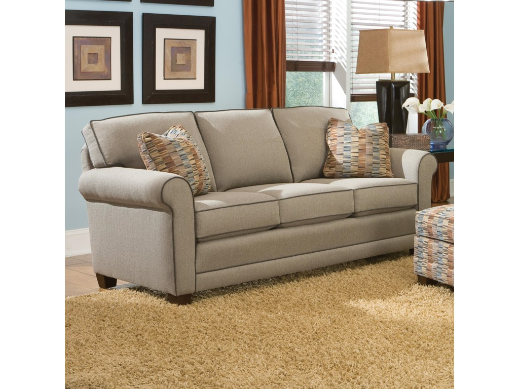 Smith Brothers 366Stationary Sofa