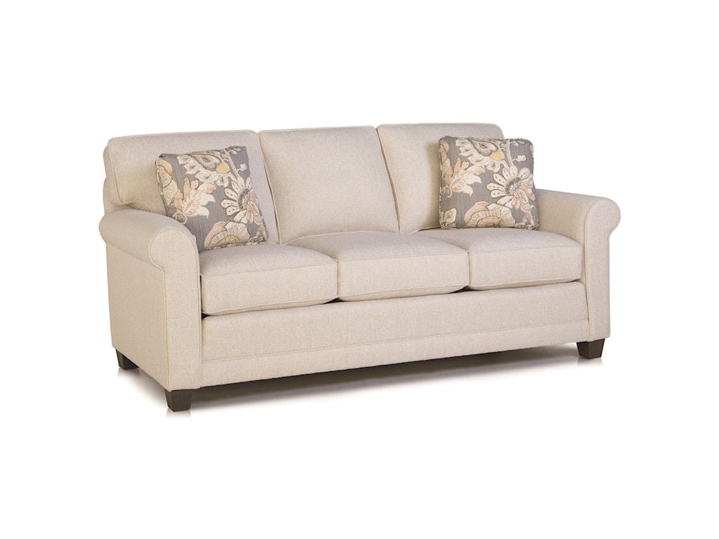 Smith Brothers 366Stationary Sofa