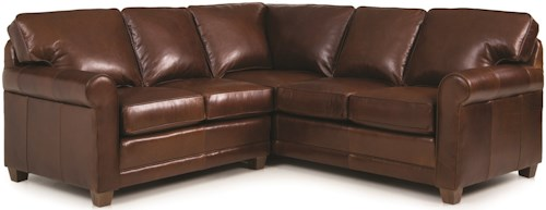 Smith Brothers 366 Casual 2-piece Sectional