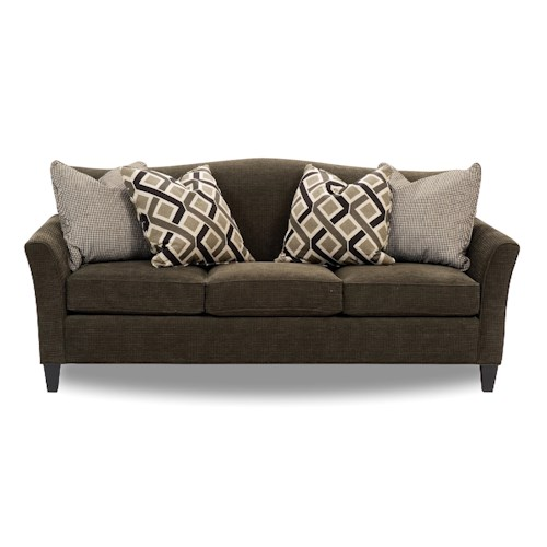 Smith Brothers 378 Stationary 3 Seat Sofa Wayside