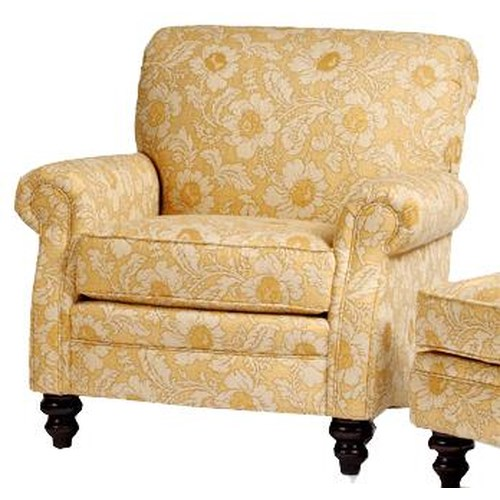 Smith Brothers 383 Customizable Upholstered Arm Chair