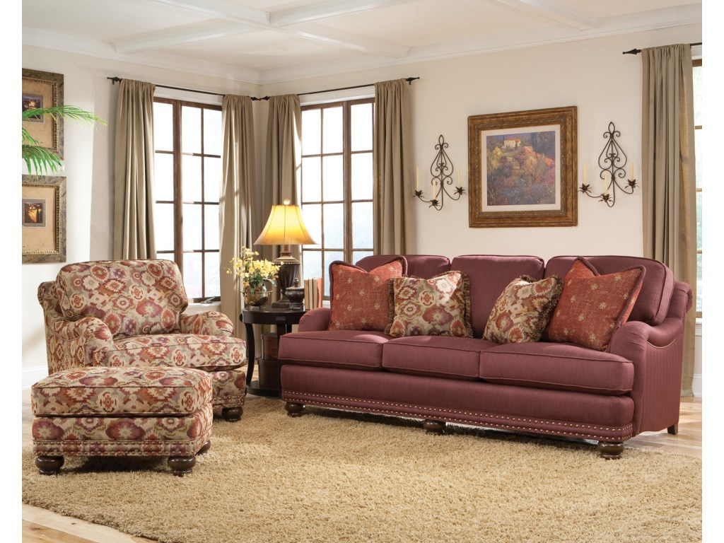 Shown with Ottoman and Chair
