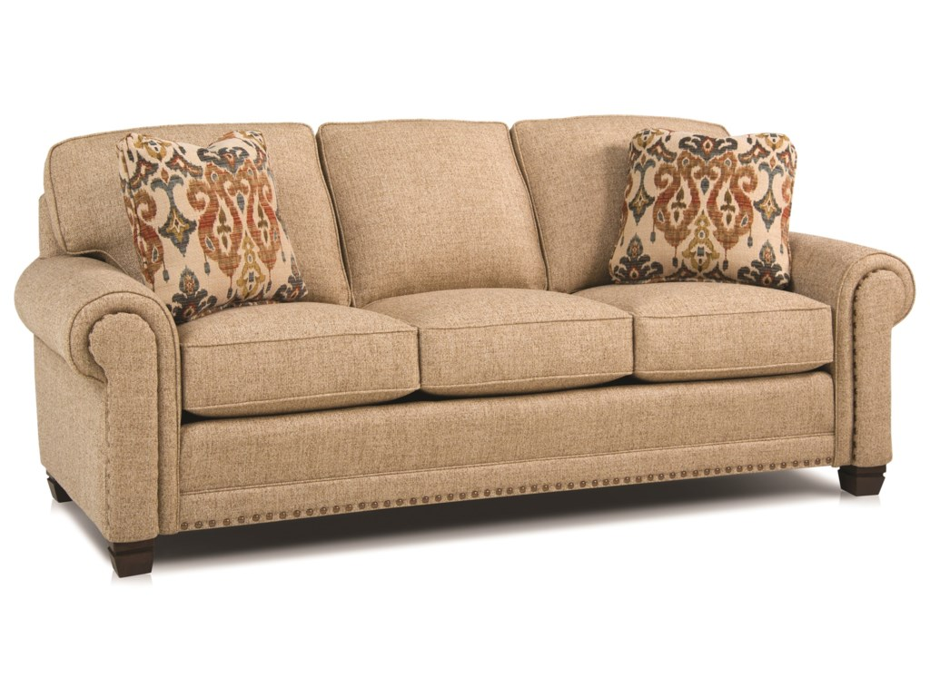 Smith Brothers 393Traditional Stationary Sofa