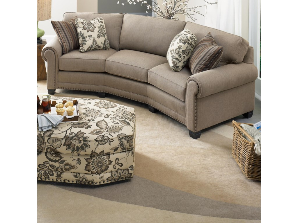 Smith Brothers 393conversation Sofa