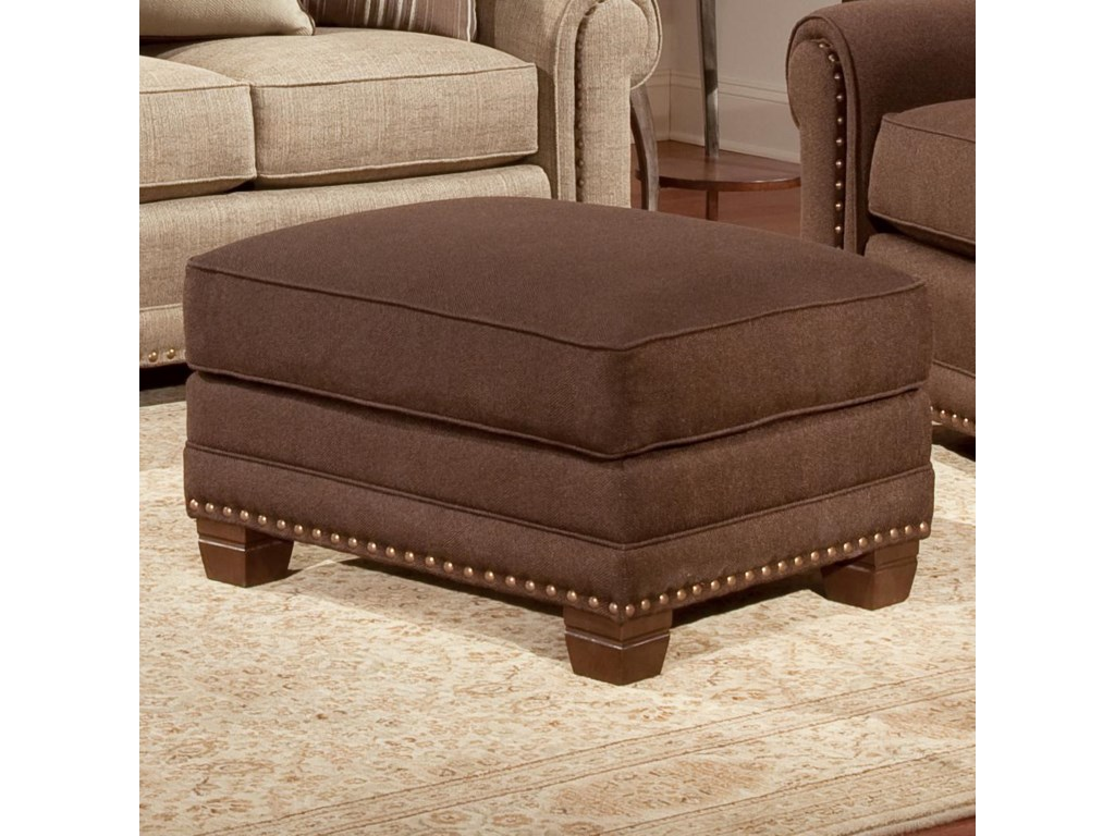 Smith Brothers 393Traditional Ottoman