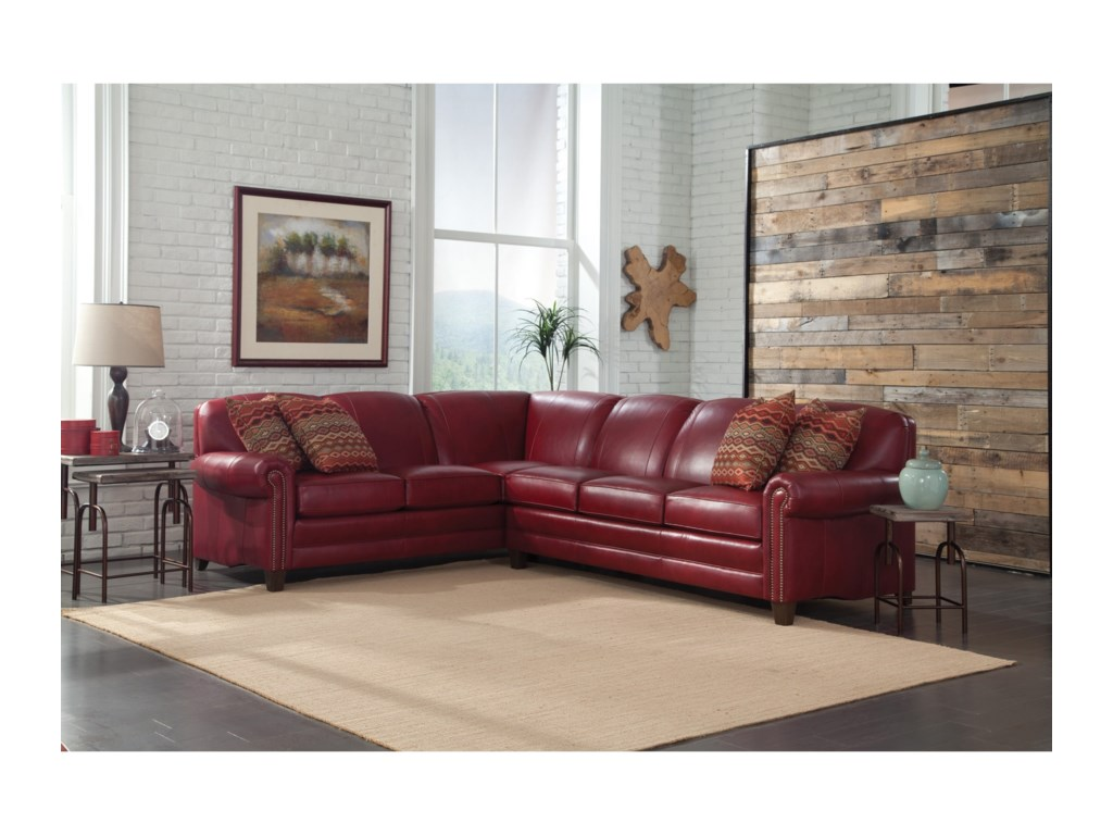Smith Brothers 397Stationary Sectional