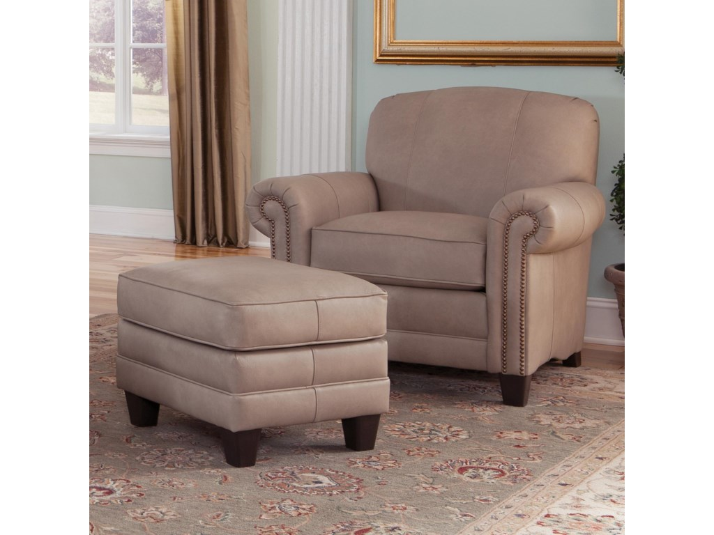 Smith Brothers 397Chair and Ottman