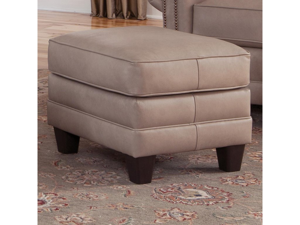 Smith Brothers 397Upholstered Ottoman