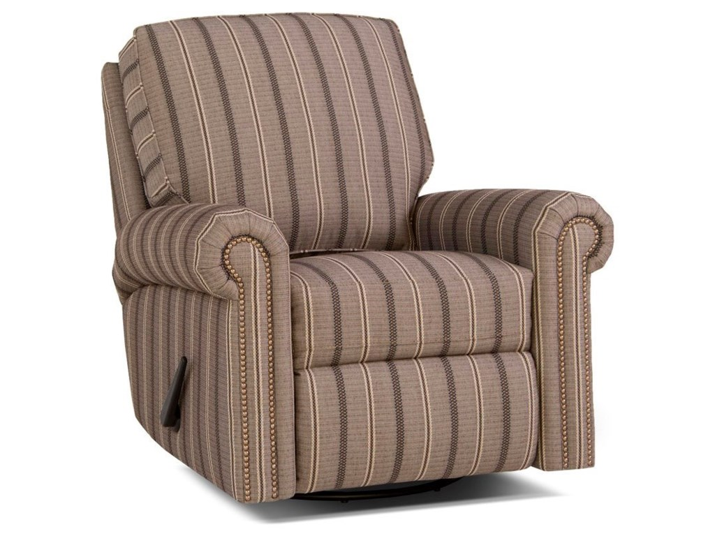 Smith Brothers 416Swivel Glider Reclining Chair
