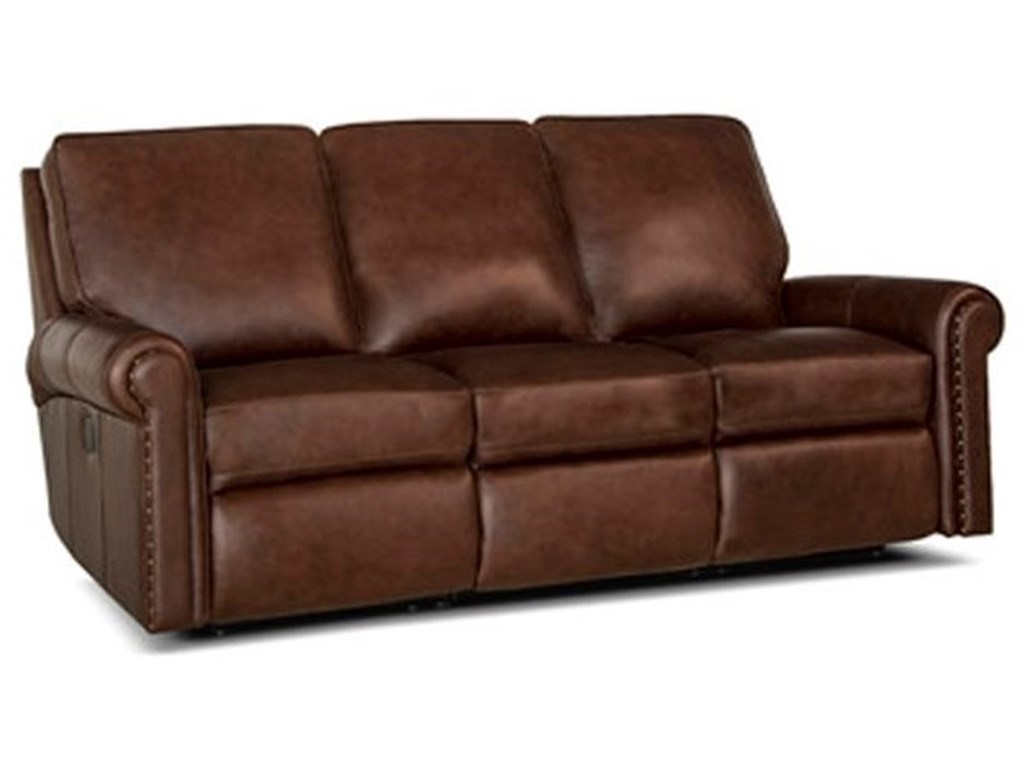 Smith Brothers 420 Traditional Power Reclining Sofa with ...