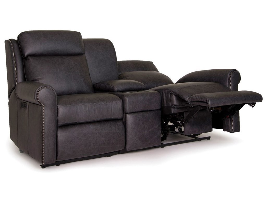 Smith Brothers 422Power Reclining Sectional Loveseat