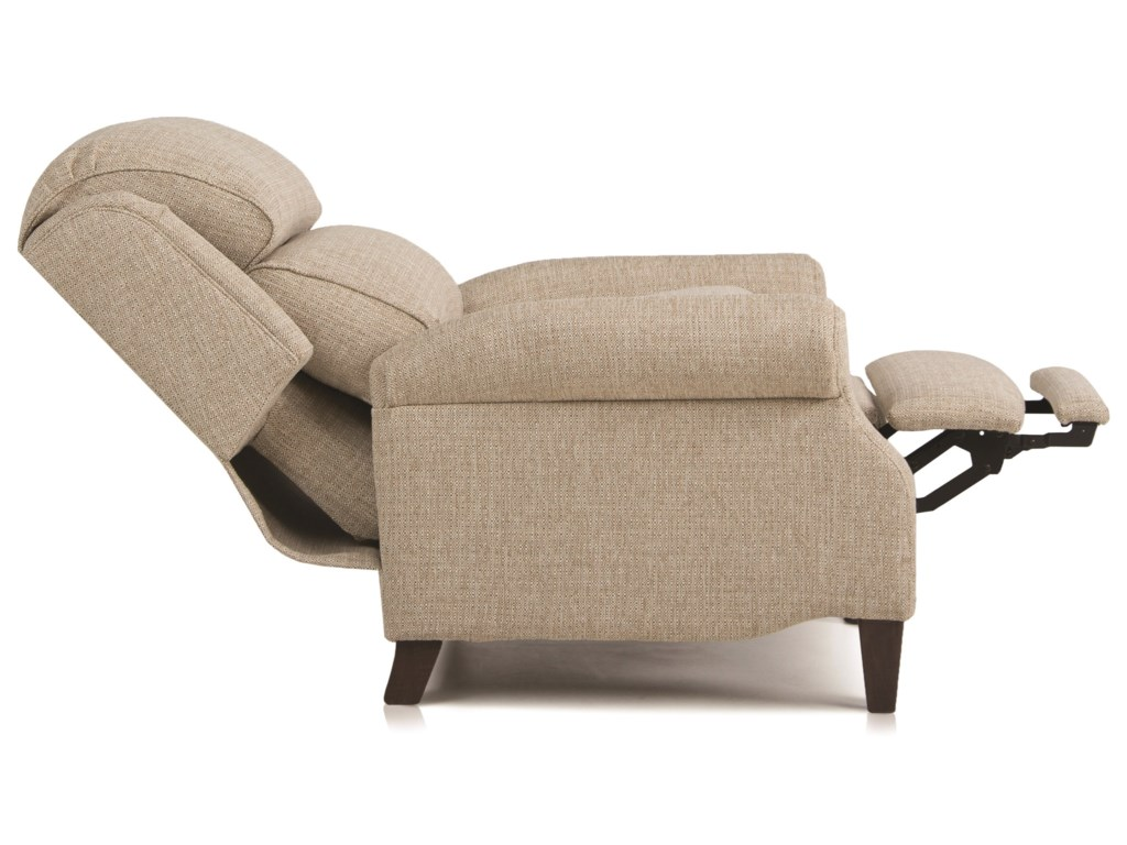 Smith Brothers 503Traditional Pressback Reclining Chair