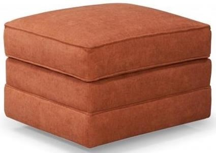 Casual Ottoman with Casters