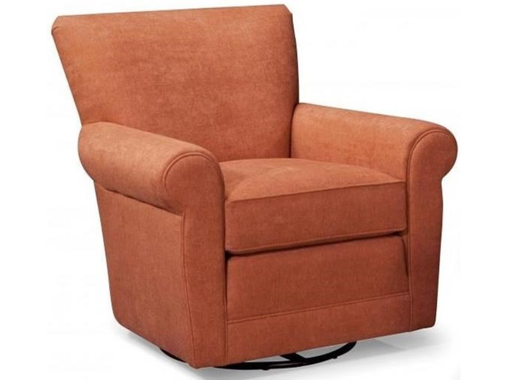 Smith Brothers 514 514 58 Casual Swivel Glider Chair With Rolled