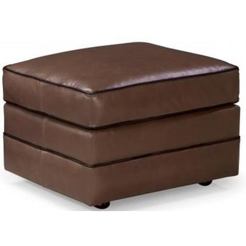 Smith Brothers 514 Casual Ottoman with Casters