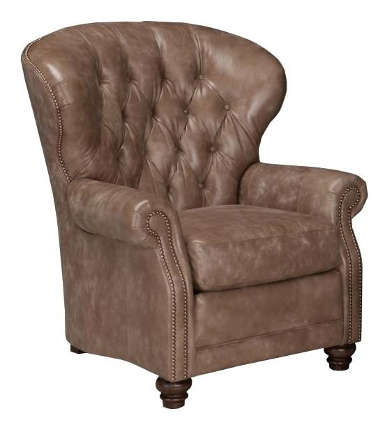 Smith Brothers 522Pressback Recliner