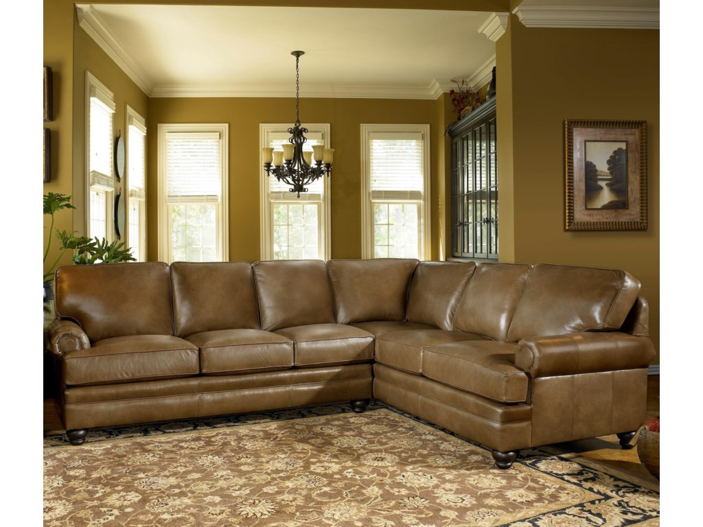 Smith Brothers 5221Sectional Sofa