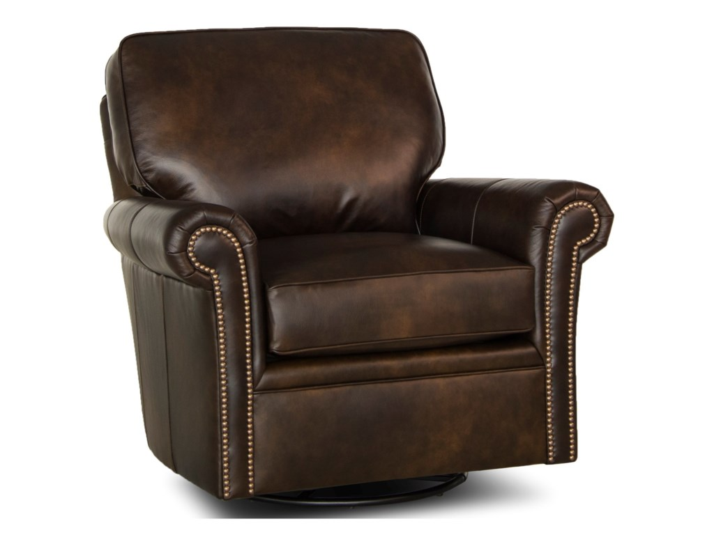 Smith Brothers 528Swivel Glider Chair