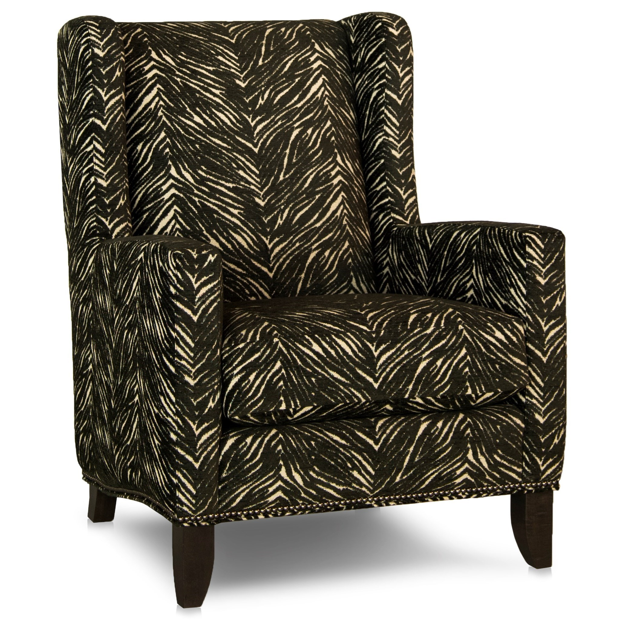 traditional wingback chairs. Smith Brothers 538Wing Back Chair Traditional Wingback Chairs