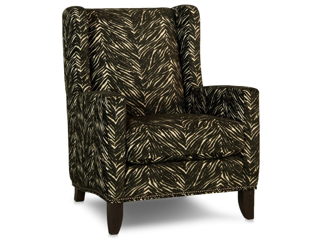 Smith Brothers 538Wing Back Chair