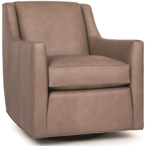 Smith Brothers 549 Contemporary Swivel Glider Chair