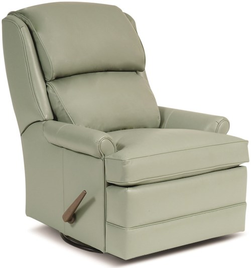 Smith Brothers 707 3 Position Recliner w/ Handle