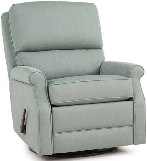 Smith Brothers 727 Casual Recliner with Rolled Sock Arms