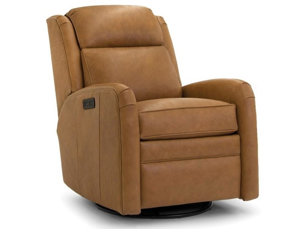 Smith Brothers 734Power Swivel Recliner