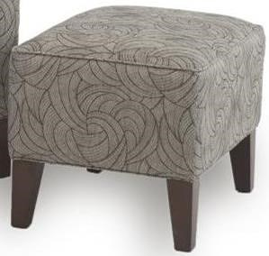 Smith Brothers 822 Casual Ottoman