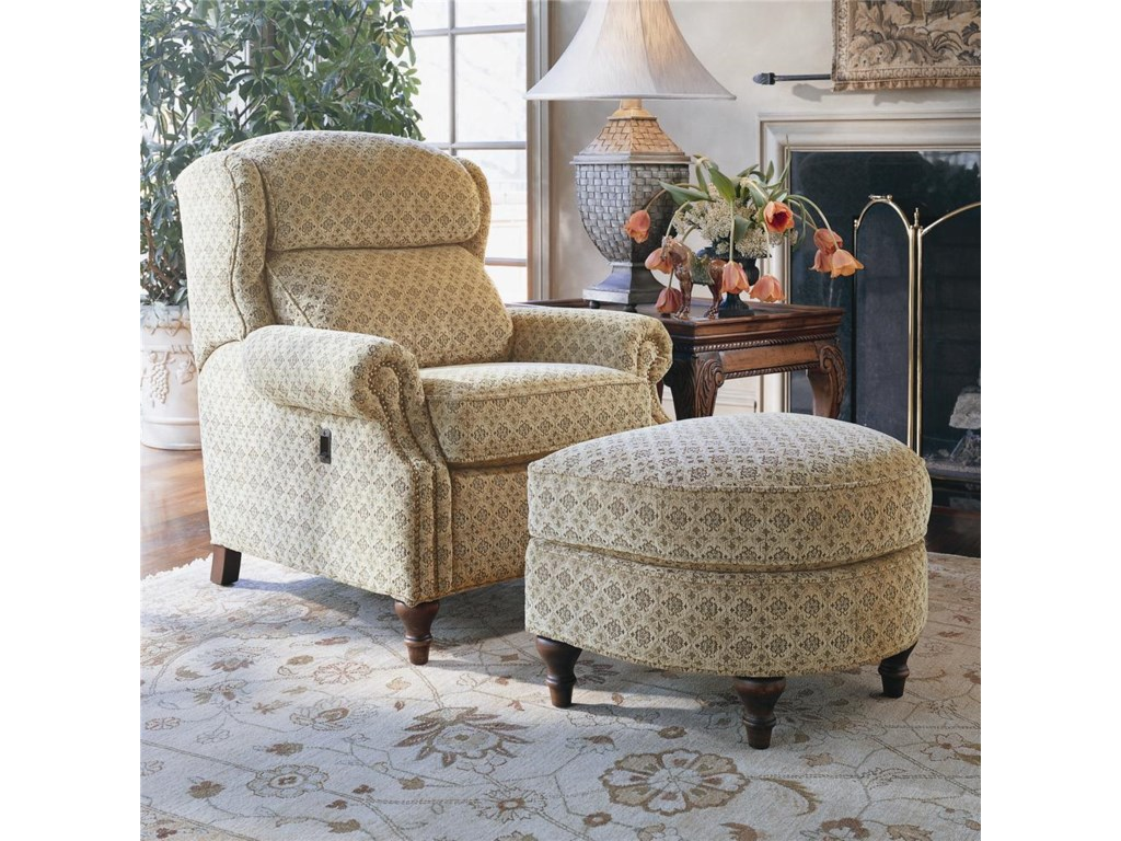 Smith Brothers 932Tilt-Chair and Ottoman