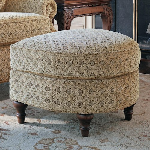 Smith Brothers 932 D Shaped Ottoman
