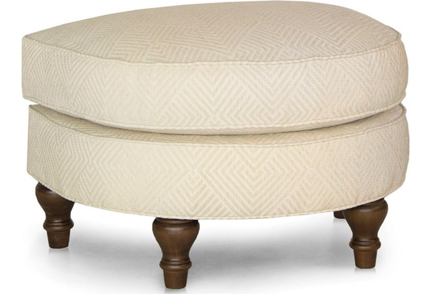 Swell Smith Brothers 932 D Shaped Ottoman Sprintz Furniture Evergreenethics Interior Chair Design Evergreenethicsorg