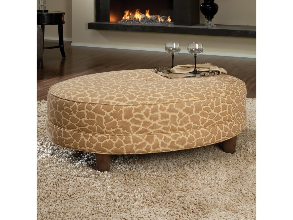 Smith Brothers 940Cocktail Ottoman