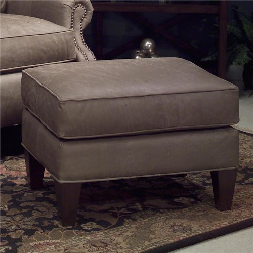Smith Brothers 951 Upholstered Ottoman